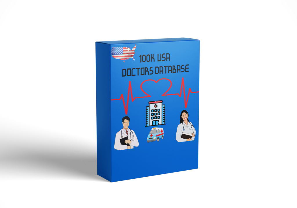 100k Usa doctors verified email list