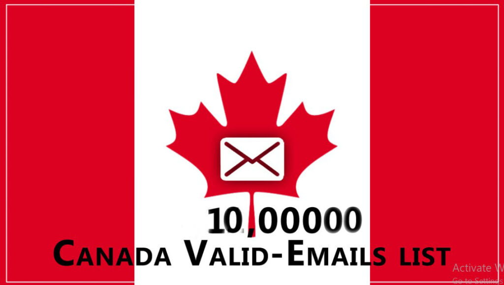 10 millions  Canada Updated Active Emails Database Active Emails
